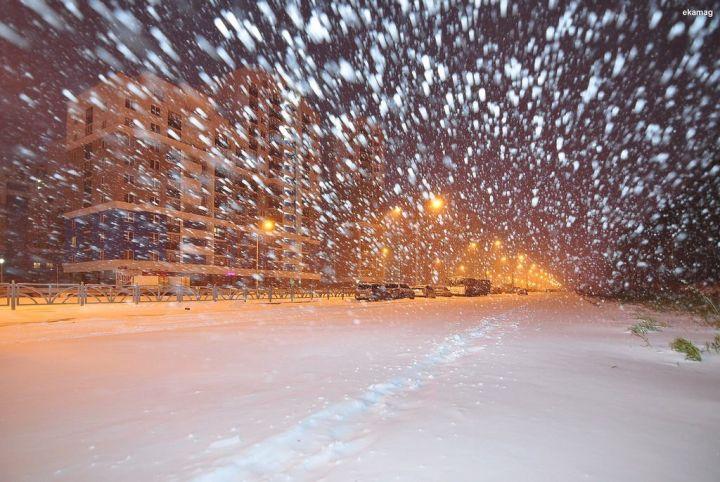 Метель, порывистый ветер имокрый снег ожидаются 16марта вТатарстане